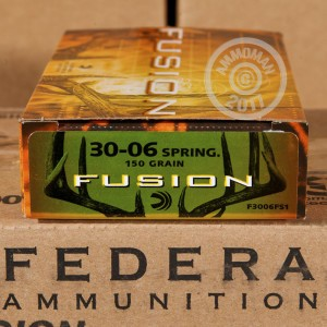 Picture of .30-06 SPRINGFIELD FEDERAL FUSION 150 GRAIN SP (20 ROUNDS)
