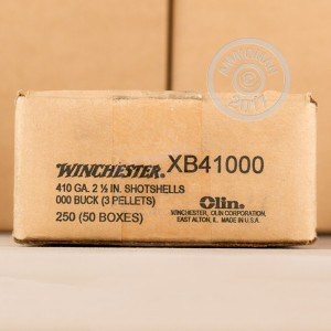"Picture of 410 BORE WINCHESTER SUPER-X 2-1/2"" 000 BUCKSHOT (250 ROUNDS)"