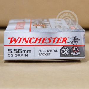 Picture of 5.56 NATO WINCHESTER WIN3GUN 55 GRAIN FMJ (20 ROUNDS)