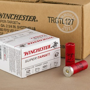 "Picture of 12 GAUGE WINCHESTER SUPER-TARGET 2 3/4"" 1 OZ. #7.5 SHOT (25 ROUNDS)"