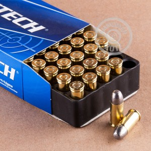Image of .32 ACP ammo by Magtech that's ideal for training at the range.