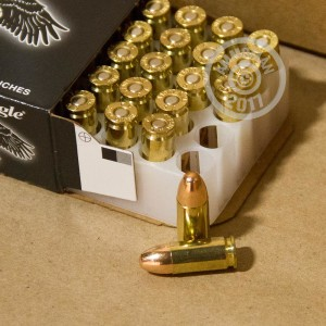 Picture of 9MM LUGER FEDERAL AMERICAN EAGLE SUPPRESSOR 124 GRAIN FMJ (50 ROUNDS)