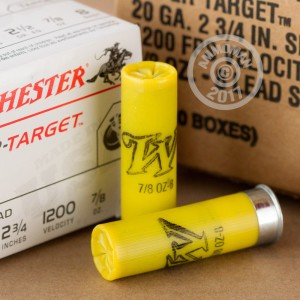 "Picture of 20 GAUGE WINCHESTER SUPER TARGET 2-3/4"" 7/8 OZ #8 SHOT (250 ROUNDS)"