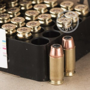 Picture of .40 S&W REMINGTON HTP 180 GRAIN JHP (50 ROUNDS)