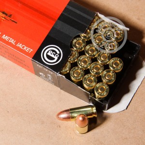 Picture of 9MM 124 GRAIN FULL METAL JACKET GECO MADE IN SWITZERLAND (50 ROUNDS)