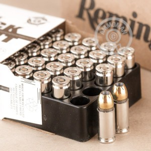 Picture of 9MM LUGER +P REMINGTON GOLDEN SABER BLACK BELT 124 GRAIN JHP (50 ROUNDS)