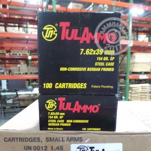 Picture of 7.62X39 TULA 154 GRAIN SOFT POINT (1000 ROUNDS)