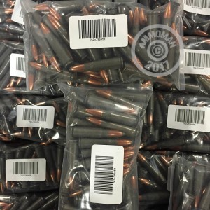 Picture of 7.62x39 MIXED STEEL AND ALUMINUM PLATED (50 ROUNDS)
