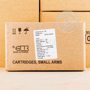 Image of 223 Remington ammo by Silver Bear that's ideal for training at the range.