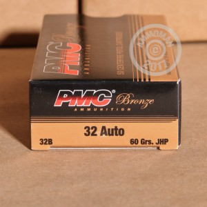 Picture of 32 ACP PMC 60 GRAIN JHP (50 ROUNDS)