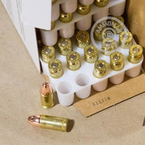 Picture of 9MM BLAZER BRASS 115 GRAIN FMJ (350 ROUNDS)
