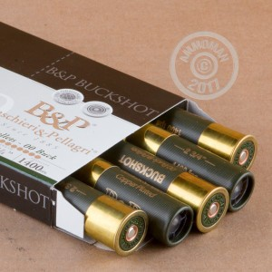 "Picture of 12 GAUGE BASCHIERI & PELLAGRI 2-3/4"" 1-1/5 OZ. 00 BUCK (10 ROUNDS)"