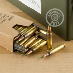 An image of bulk 5.56x45mm ammo made by Federal at AmmoMan.com.