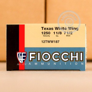 "Picture of 12 GAUGE FIOCCHI TEXAS DOVE LOAD 2-3/4"" 1-1/8 OZ. #7.5 SHOT (250 ROUNDS)"