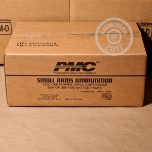 Picture of .223 REMINGTON PMC BATTLE PACK 55 GRAIN FMJ-BT (200 ROUNDS)