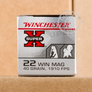 Picture of 22 WMR - 40 gr FMJ- Winchester - 50 Rounds