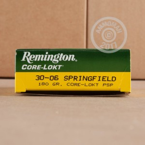 Picture of 30-06 SPRINGFIELD REMINGTON CORE-LOKT 180 GRAIN PSP (200 ROUNDS)