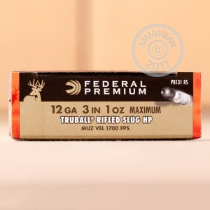 "Picture of 12 GAUGE FEDERAL PREMIUM TRUBALL 3"" HP RIFLED SLUG (5 ROUNDS)"