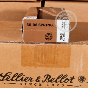 Picture of .30-06 SPRINGFIELD SELLIER & BELLOT 180 GRAIN XRG (20 ROUNDS)