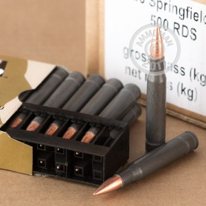 Picture of 30-06 SPRINGFIELD WPA MILITARY CLASSIC 168 GRAIN FMJ (20 ROUNDS)