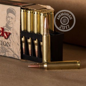 Picture of 223 REMINGTON HORNADY MATCH 75 GRAIN BTHP (200 ROUNDS)