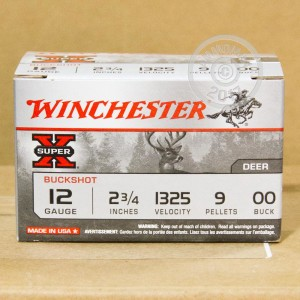 "Picture of 12 GAUGE WINCHESTER SUPER-X 2-3/4"" #00 BUCK 9 PELLETS (150 ROUNDS)"