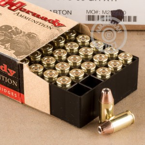 Picture of 380 ACP HORNADY 90 GRAIN JHP (25 ROUNDS)