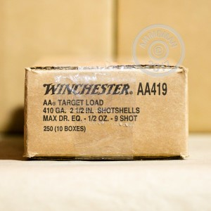 "Picture of 410 GAUGE WINCHESTER AA 2-1/2"" #9 SHOT (25 ROUNDS)"