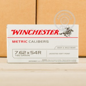 Picture of 7.62x54R WINCHESTER 180 GRAIN SP (20 ROUNDS)