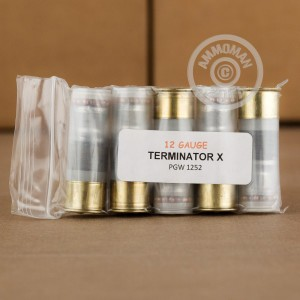"Picture of 12 GAUGE PRECISION GUN WORKS TERMINATOR X 2-3/4"" SPECIALTY (5 ROUNDS)"