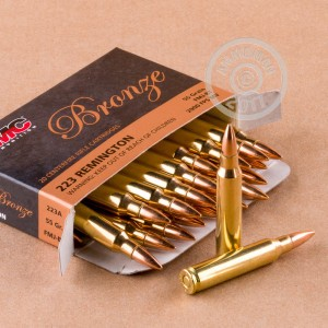 Picture of 223 REMINGTON PMC BRONZE 55 GRAIN FMJ (1000 ROUNDS)