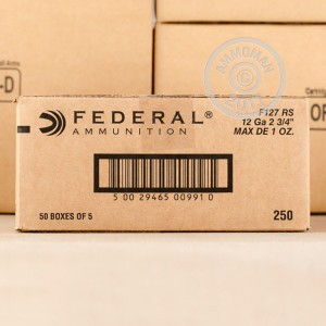 "Picture of 12 GAUGE FEDERAL 2-3/4"" 1 OZ SLUG (250 ROUNDS)"