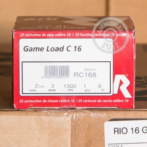 "Picture of 16 GAUGE RIO ROYAL GAME 2-3/4"" #8 (25 SHELLS)"