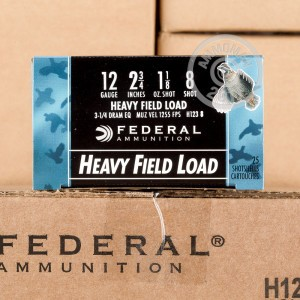 "Picture of 12 GAUGE FEDERAL GAME-SHOK HEAVY FIELD LOAD 2-3/4"" 1-1/8 OZ #8 SHOT (25 ROUNDS)"