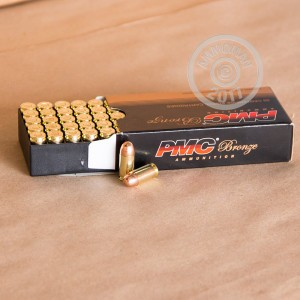 Picture of 380 ACP PMC BRONZE BATTLE PACK 90 GRAIN FMJ (900 ROUNDS)