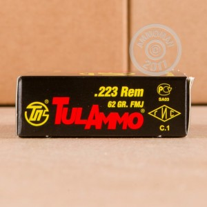 Picture of 223 REM TULA 62 GRAIN FMJ (20 ROUNDS)