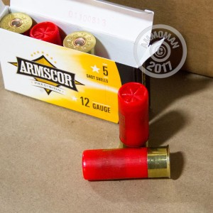 ammo made by Armscor with a 2-3/4