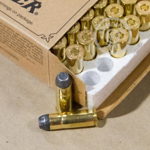 Picture of 44-40 WINCHESTER COWBOY LOADS 225 GRAIN LFN (50 ROUNDS)