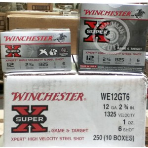 "Picture of 12 GAUGE WINCHESTER SUPER-X STEEL 2-3/4"" #6 SHOT (250 ROUNDS)"