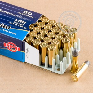 Picture of 38 SPECIAL PRVI PARTIZAN 158 GRAIN LRN (50 ROUNDS)