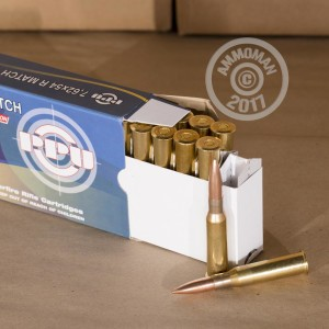 Picture of 7.62X54R PRVI PARTIZAN 182 GRAIN FMJ (20 ROUNDS)