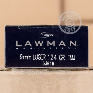 Picture of 9MM LUGER SPEER LAWMAN 124 GRAIN TMJ (1000 ROUNDS)
