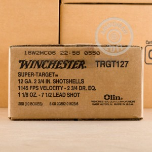"Picture of 12 GAUGE WINCHESTER SUPER TARGET 2-3/4"" #7.5 SHOT (25 ROUNDS)"