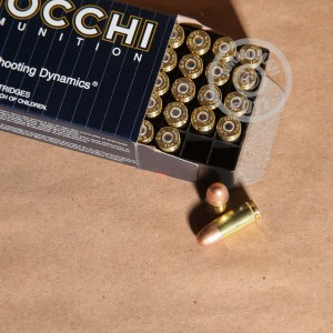 Picture of 9MM LUGER FIOCCHI 158 GRAIN FMJ SUB-SONIC (50 ROUNDS)