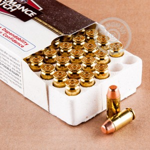 Picture of 40 S&W CORBON PERFORMANCE MATCH 165 GRAIN FMJ (50 ROUNDS)