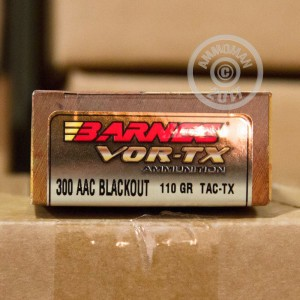 Picture of 300 AAC BLACKOUT BARNES VOR-TX 110 GRAIN TAC-TX (200 ROUNDS)