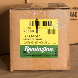 Picture of 45 LONG COLT REMINGTON TARGET 250 GRAIN LRN (500 ROUNDS)