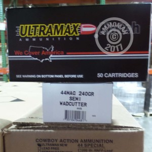 Picture of 44 MAGNUM ULTRAMAX 240 GRAIN LSWC (500 ROUNDS)
