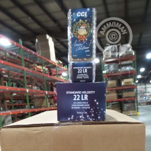 Picture of 22 LR CCI 2016 CHRISTMAS GIFT PACK 40 GRAIN LRN (500 ROUNDS)