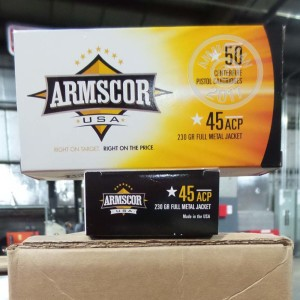 Picture of 45 ACP ARMSCOR USA 230 GRAIN FMJ (1000 ROUNDS)